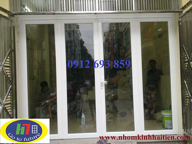 Cửa nhôm việt pháp thi công tại Mỗ Lao H.Đông HN