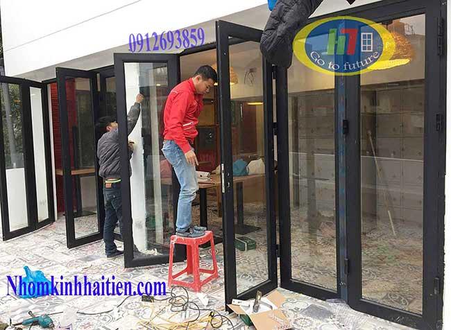 Cửa nhôm việt pháp tại Yên Xá H.Nội