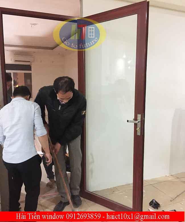 Cửa nhôm Việt Pháp chia đố Hà Nội