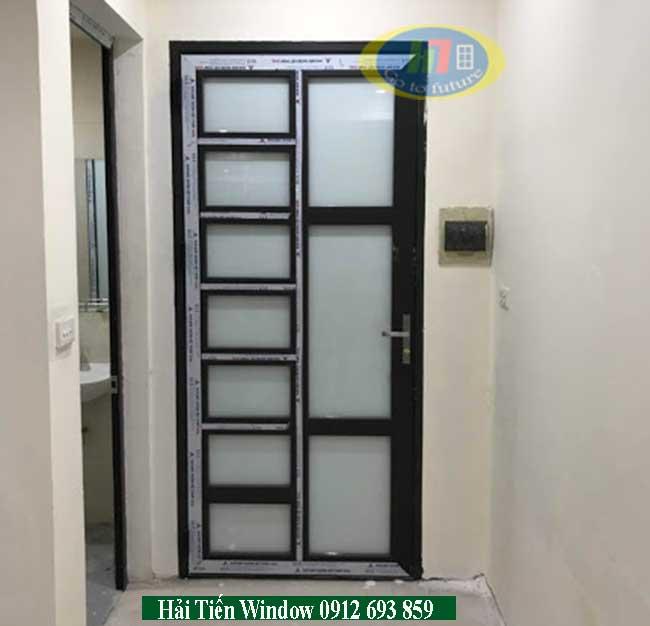 Cửa nhôm cho phòng ngủ bằng nhôm Việt Pháp 4500