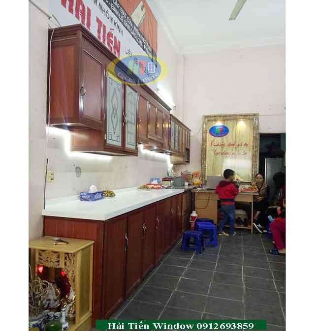 Tủ bếp nhôm Hải Tiến hà nội