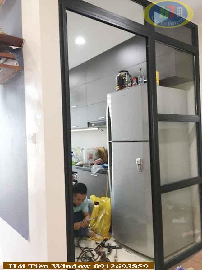 Cửa nhôm đẹp số 1 tại Hà Nội lùa trượt hệ nhôm định hình 2019