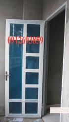 cửa nhôm việt pháp, cửa nhôm kính số nhà 51 Mai Phúc - Phúc Đồng - Sài Đồng
