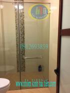 kính cường lực, cabin phòng tắm bằng kính tại Khương trung T.Xuân