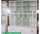 Tủ nhôm kính bán hàng, tủ trưng bày giá rẻ