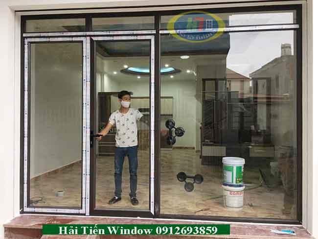 Cửa nhôm Việt pháp trượt lùa giá rẻ