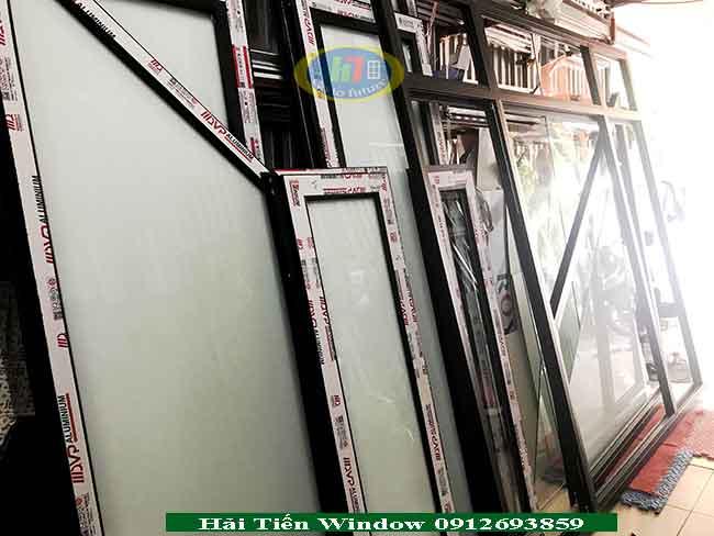 Cửa nhôm hệ cao cấp giá rẻ tại An Lão - Hải Phòng
