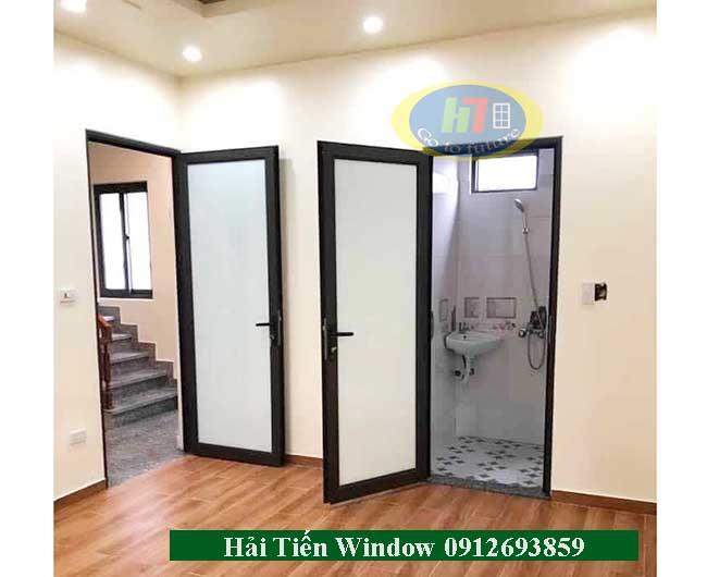 Mẫu cửa nhôm kính đẹp giá rẻ thi công tại Hải Phòng