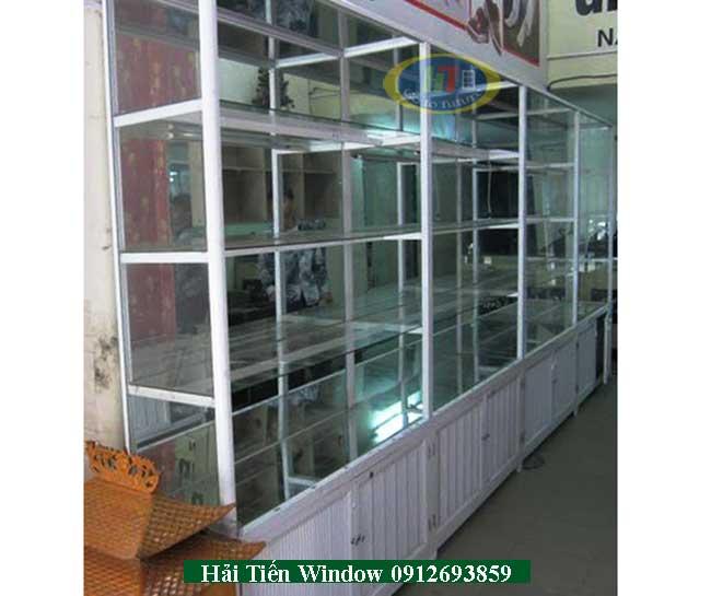 Bán tủ nhôm kính trưng bày giá rẻ tại Hà Nội
